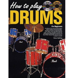 How To Play Drums Book/CD/DVD