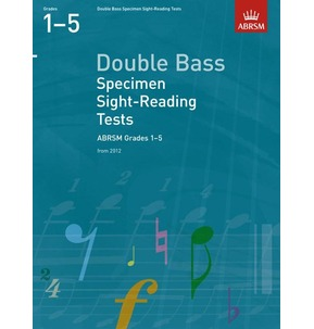 ABRSM Double Bass Sight-Reading Tests 2012 Grades 1-5