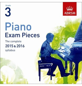 ABRSM Piano Exam Pieces: 2015-2016 (Grade 3) - CD Only