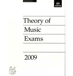 2009 Theory of Music Exams Papers - ABRSM Grade 4