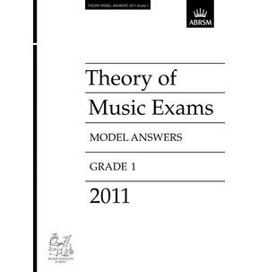 2011 Theory Exam Paper Model Answers Grade 5