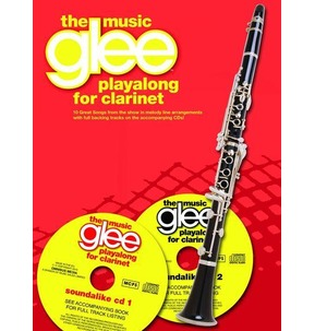 Glee Playalong for Clarinet Book and 2 CD's