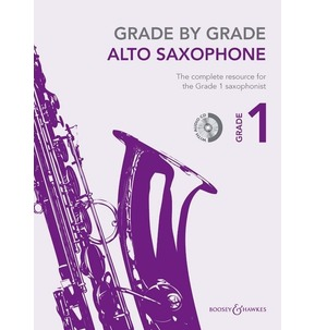 Grade By Grade for Alto Saxophone (Boosey & Hawkes) Grade 1