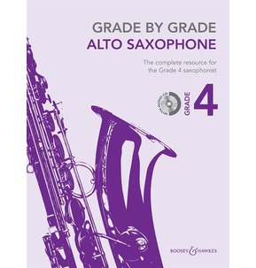 Grade By Grade for Alto Saxophone (Boosey & Hawkes) Grade 4