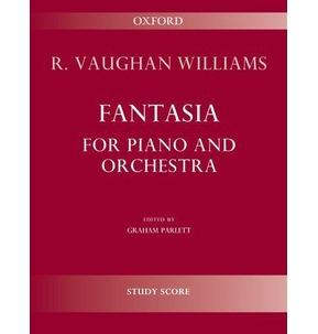 Fantasia for Piano & Orchestra Study Score Vaughan William
