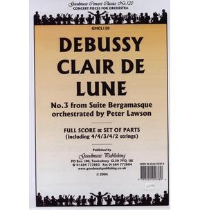 REDUCED PRICE - Debussy - Clair De Lune - Full Score