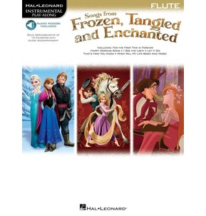 Songs From Frozen, Tangled & Enchanted - Book/Online audio