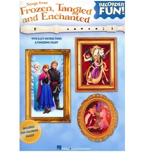 Recorder Fun Songs from Frozen Tangled & Enchanted