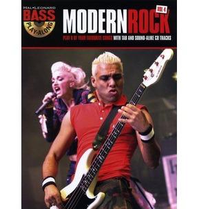 REDUCED! Bass Play-Along Volume 4: Modern Rock TAB