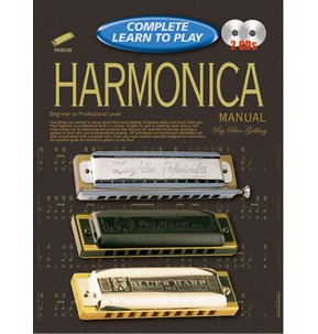 Complete Learn to Play Harmonica Manual Book & 2 CDs Beginner to Professional Level