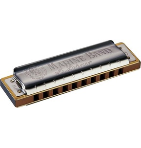 Hohner Marine Band Harmonica Hand Made Series Key G