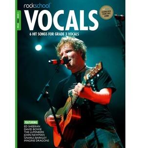 Rockschool: Vocals - Male (Book/Download) 2014-2017 Grade 3