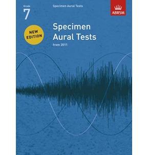 Specimen Aural Tests ABRSM 2011+ Book/CD Grade 7