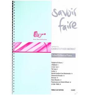 Savoir Faire for Tuba/Eb Bass & Piano Treble Clef Edition