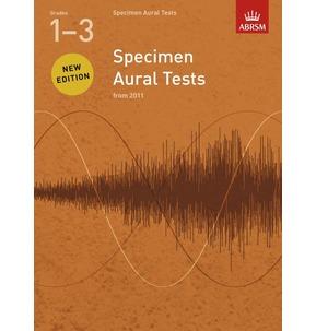 Specimen Aural Tests ABRSM 2011+  Book Only Grades 1-3