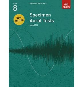 Specimen Aural Tests ABRSM 2011+ Book Only Grade 8