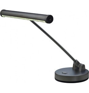 Stagg LED Piano Desk lamp - Black, Battery or mains operated Black