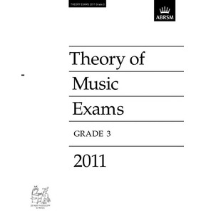 2011 Theory of Music Exams Papers ABRSM Grade 3