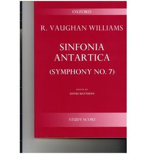 Sinfonia Antartica Study Score Vaughan Williams