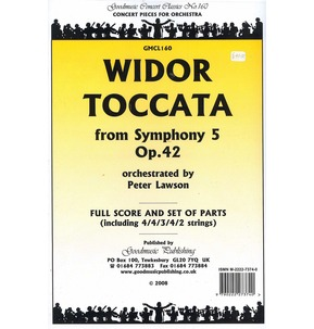 REDUCED - Widor - Toccata Symphony 5 Opus 42 - Full Score