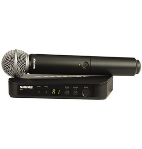 Shure BLX24UK/SM58 Analog Wireless Microphone Kit