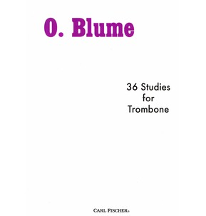 36 Studies for Trombone with F Attachment