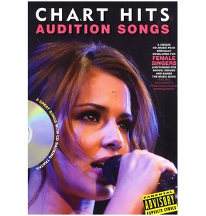 REDUCED! Audition Songs For Female Singers: Chart Hits