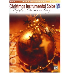 Popular Christmas Songs for Violin Book/CD