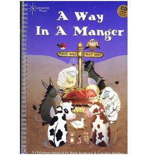 REDUCED! A Way In A Manger - Ruth Kenward & Caroline Kimber
