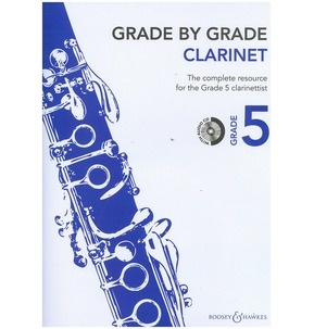 Grade By Grade for Clarinet CD Included (Boosey & Hawkes)