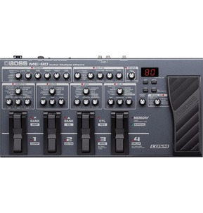 BOSS ME-80 Multiple Guitar Effects Processor