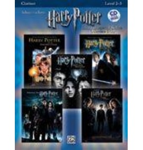 Harry Potter Solos - Clarinet - Book/CD