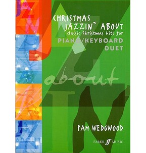 Christmas Jazzin' About - Piano/Keyboard Book & CD