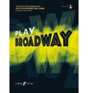 Play Broadway Alto Sax Book/CD