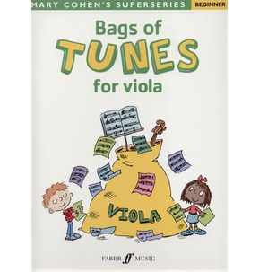 Bags of Tunes for Beginner Viola