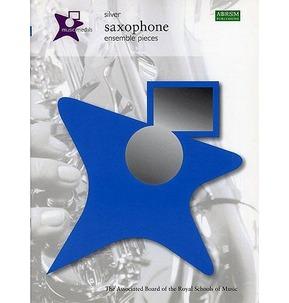 Music Medals - Saxophone Ensemble Pieces Silver