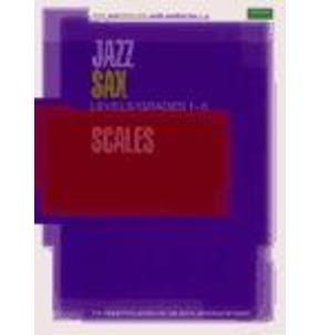 Jazz Sax Scales - Grades 1-5