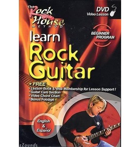 REDUCED! Beginner Electric Guitar 1 Rockhouse DVD