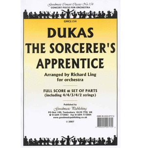 REDUCED PRICE - Dukas - Sorcerer's Apprentice - Orchestra