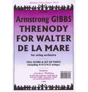 Gibbs - Threnody For Walter De La Mare