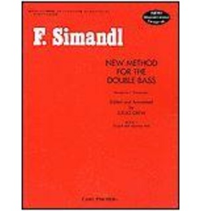 Simandl New Method For Double Bass