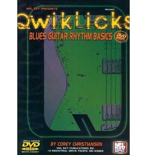 Blues Guitar Rhythm Basics DVD Qwiklicks