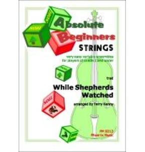 REDUCED! While Shepherds Watched Absolute Beginners Strings
