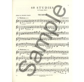 Kopprasch 60 Studies for Trumpet Book 1 ed Voisin