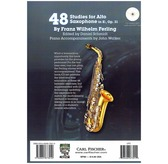 Franz Wilhelm Ferling: 48 Studies For Alto Saxophone In E Flat Op.31