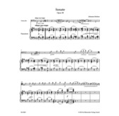 Brahms: Sonata for Violoncello and Piano E minor op. 38 (Barenreiter)