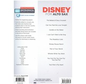 Alto Sax Easy Instrumental Play-Along: Disney (Book/Online Audio)