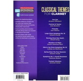 Clarinet Easy Instrumental Play-Along: Classical Themes (Book/Online Audio)