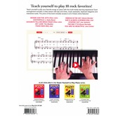 Teach Yourself To Play Piano Songs: Piano Man And 9 More Rock Favorites (Book/Online Media)